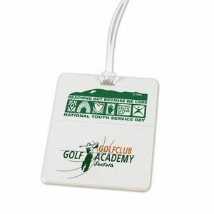Rectangle Golf Tag